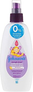 Spray de păr pentru copii - Johnson's Baby Strength Drops