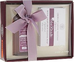 Parfumuri și produse cosmetice Set - Erbario Toscano Royal Grape (shmp/125ml + soap/140g)