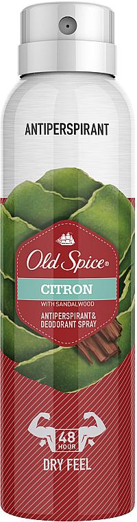 Antiperspirant spray - Old Spice Citron Dezodorant Spray — Imagine N1