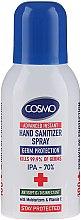 Parfumuri și produse cosmetice Spray dezinfectant pentru mâini - Cosmo Advanced Instant Hand Sanitizer Spray