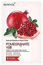 Parfumuri și produse cosmetice Mască de țesut cu extract de rodie - Eunyul Natural Moisture Pomegranate Mask