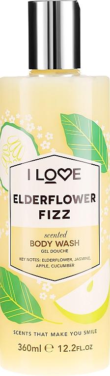 Gel de duș - I Love Elderflower Fizz Body Wash — Imagine N1