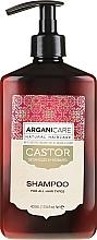 Parfumuri și produse cosmetice Șampon pentru creșterea părului - Arganicare Castor Oil Shampoo