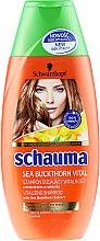 """Parfumuri și produse cosmetice Șampon """"Energie de cătină"""", pentru vitalitate părului epuizat - Schwarzkopf Schauma Shampoo"""