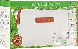 Parfumuri și produse cosmetice Set - Collistar Natura (cr/50ml + water/150ml + pounch)