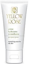 Parfumuri și produse cosmetice Cremă echilibrantă de zi pentru față - Yellow Rose Creme Hydratante Normalisante