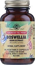 """Parfumuri și produse cosmetice Supliment pe bază de plante """"Extract de rășină Boswellia"""" - Solgar Boswellia Resin Extract Herbal Supplement"""