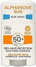 Parfumuri și produse cosmetice Stick cu protecție solară - Alphanova Sun Blue Whale SPF50+