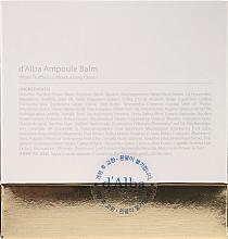 Cremă hidratantă cu extract de trufe albe pentru față - D'Alba Ampoule Balm White Truffle Eco Moisturizing Cream — Imagine N3