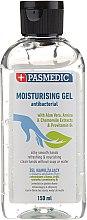 Parfumuri și produse cosmetice Gel antibacterian hidratant pentru mâini - Pasmedic Moisturising Gel Antibacterial