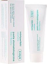 Parfumuri și produse cosmetice Pastă de dinți, fără fluor - Ziaja Mintperfect