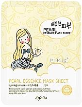 Parfumuri și produse cosmetice Mască de țesut cu perle pentru față - Esfolio Essence Mask Sheet