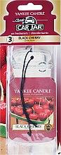 "Parfumuri și produse cosmetice Aromatizator ""Cireșe"" - Yankee Candle Black Cherry Jar Ultimate"