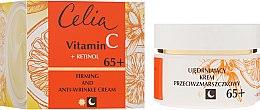 Parfumuri și produse cosmetice Cremă de față anti-îmbătrânire, de zi și noapte 65+ - Celia Witamina C
