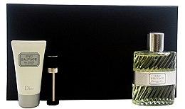 Parfumuri și produse cosmetice Christian Dior Eau Sauvage - Set (edt 100ml + sh/g 50ml + edt 3ml)