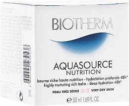 Parfumuri și produse cosmetice Balsam hidratant pentru pielea uscată - Biotherm Aquasource Nutrition