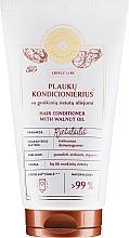 Parfumuri și produse cosmetice Balsam de păr, cu extract de nucă și drojdie de bere - Green Feel's Hair Conditioner With Brewer's Yeast Extract & Walnut Oil