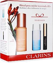 Set - Clarins Extra-Firming Yeux Set (eye/ser/15ml+makeup/remover/30ml+mascara/3ml) — Imagine N1