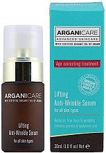 Ser antirid pentru față - Arganicare Lifting Anti-Wrinkle Serum — Imagine N2