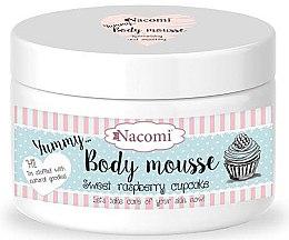 """Parfumuri și produse cosmetice Mousse de corp """"Tort dulce de zmeură"""" - Nacomi Body Mousse"""