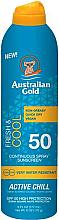 Parfumuri și produse cosmetice Spray cu protecție solară pentru corp - Australian Gold Fresh & Cool Continuous Spray Sunscreen Spf50