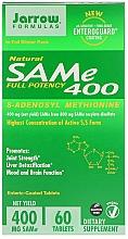 Parfumuri și produse cosmetice Adenosilmetionina, capsule 400 mg - Jarrow Formulas SAM-e 400 (S-Adenosyl-L-Methionine) 400 mg