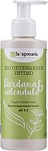 Parfumuri și produse cosmetice Gel pentru igiena intimă cu brusture și calendula - La Saponaria Burdock & Calendula Intimate Wash