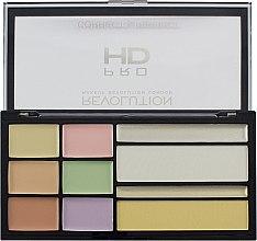 Parfumuri și produse cosmetice Paleta corector ten - Makeup Revolution HD Correct and Perfect Palette