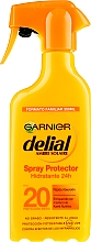 Parfumuri și produse cosmetice Spray hidratant cu protecție solară - Garnier Delial Ambre Solaire 24h Hydration Spray Protector SPF20