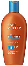 Parfumuri și produse cosmetice Lapte de corp pentru bronzare rapidă - Anne Moller Express Sunscreen Body Milk SPF15