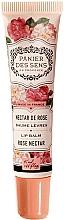 "Parfumuri și produse cosmetice Balsam de buze, cu unt de shea ""Trandafir"" - Panier des Sens Lip Balm Shea Butter Rose Nectar"