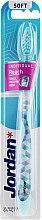 Духи, Парфюмерия, косметика Зубная щетка мягкая Individual Reach, светло-голубая - Jordan Individual Reach Soft
