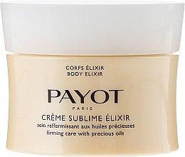 Parfumuri și produse cosmetice Cremă de corp - Payot Creme Sublime Elixir