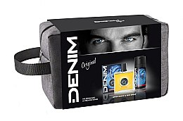 Parfumuri și produse cosmetice Denim Original - Set (ash/lot/100ml + deo/150ml + bag)