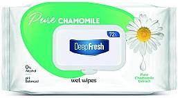 Parfumuri și produse cosmetice Șervețele umede cu mușețel pentru bebeluși - Aksan Deep Fresh Pure Chamomile Wipes