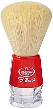 Parfumuri și produse cosmetice Pămătuf de ras, S10018, roșu - Omega