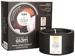 Parfumuri și produse cosmetice Lumânare parfumată - House of Glam Black Coconut Candle