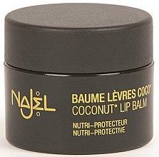 Parfumuri și produse cosmetice Balsam de buze cu ulei de nucă de cocos - Najel Coconut Lip Balm