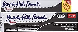 Parfumuri și produse cosmetice Pastă de dinți - Beverly Hills Formula Natural White Baking Soda With Charcoal