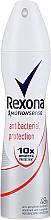 Parfumuri și produse cosmetice Spray deodorant antiperspirant - Rexona Antibacterial Protection Deodorant Spray