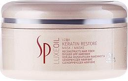 Parfumuri și produse cosmetice Mască regenerantă pentru păr cu Keratină - Wella SP Luxe Oil Keratin Restore Mask