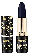 Parfumuri și produse cosmetice Ruj hidratant pentru buze - Miyo Lip Me Lipstick Belladonna