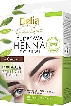 Parfumuri și produse cosmetice Хна для бровей - Delia Cosmetics Eyebrow Expert Brow Henna