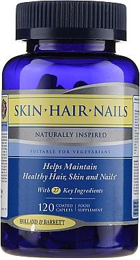 Supliment alimentar pentru întărirea pielii, părului, unghiilor - Holland & Barrett Skin Hair And Nails Naturally Inspired