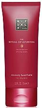 Parfumuri și produse cosmetice Balsam revitalizant cu migdale și trandafir indian pentru mâini - Rituals The Ritual of Ayurveda Recovery Hand Balm