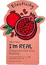 Parfumuri și produse cosmetice Листовая маска для лица - Tony Moly I'm Real Pomegranate Mask Sheet