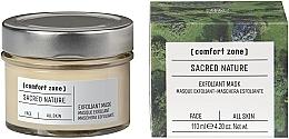 Parfumuri și produse cosmetice Mască iluminatoare pentru față - Comfort Zone Sacred Nature Exfoliant Mask