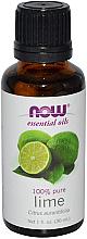 Parfumuri și produse cosmetice Ulei esențial de lime - Now Foods Essential Oils 100% Pure Lime