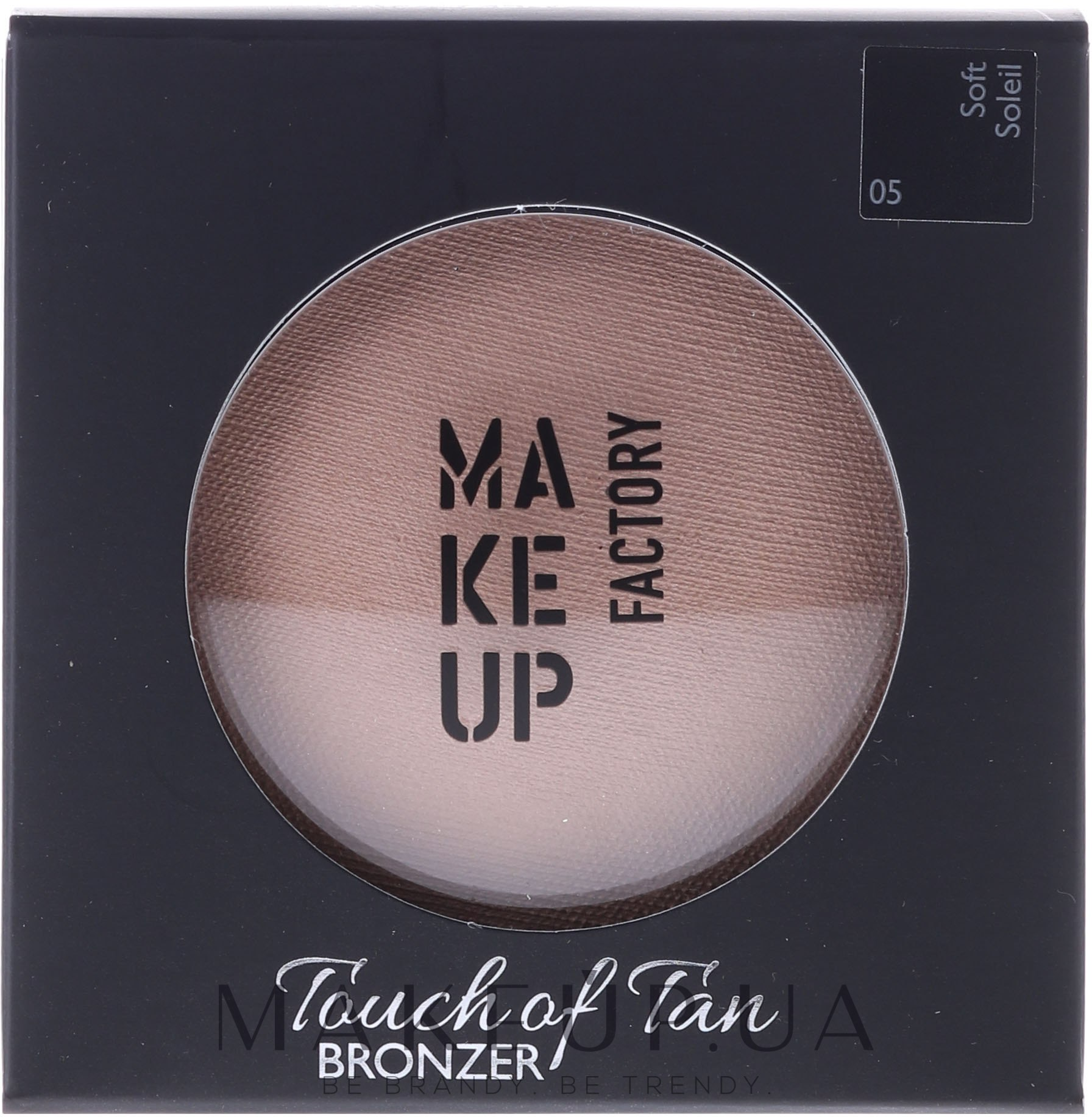 Bronzer pentru față - Make up Factory Touch Of Tan Bronzer — Imagine 05 - Soft Soleil