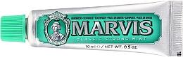 Parfumuri și produse cosmetice Pastă de dinți - Marvis Classic Strong Mint (mini)